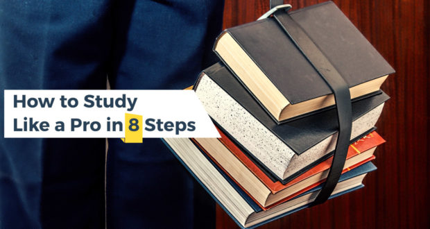 How to Study Like a Pro in 8 Steps
