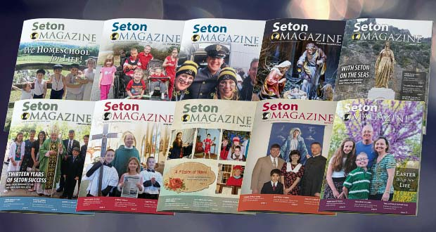 Download Seton Magazine PDF Issues
