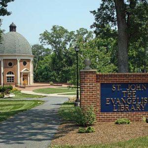 St John the Bapstist Library, Christendom College, VA