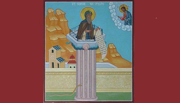 St. Simeon Stylite's Most Interesting Vocation
