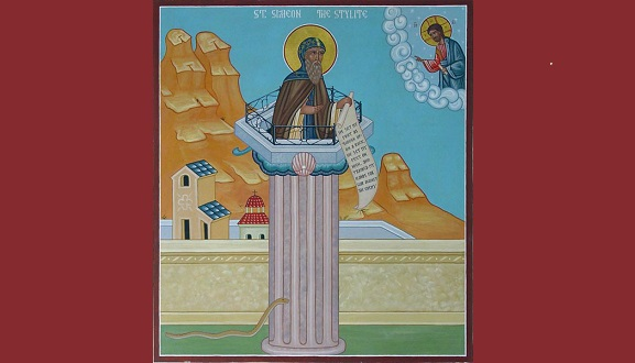 St. Simeon Stylite's Most Interesting Vocation