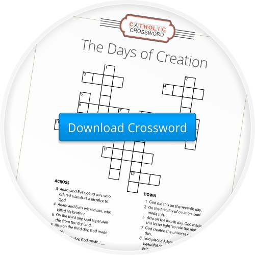 Download the 'Days of Creation Crossword'