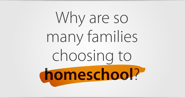 Why are so many families choosing to homeschool?