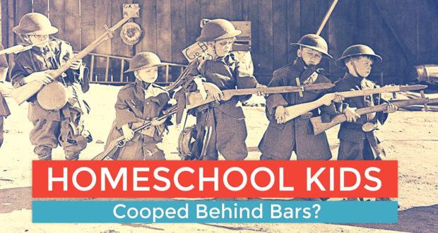 Homeschool Kids Behind Bars - by Dominic de Souza