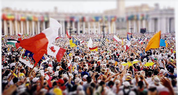 Where are Tomorrow's Catholic Leaders? (World Youth Day Rome)