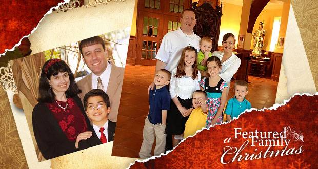 Merry Christmas from the Domangue and Madrid Families!