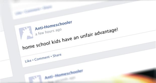Do Homeschool Kids have an Unfair Advantage?
