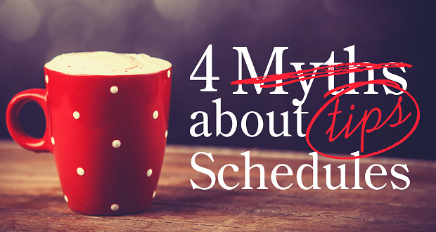 No More Myths: Getting A Schedule that Really *Works*!