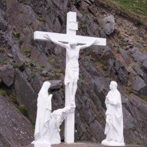 Roadside shrine near Sleahead, Ireland