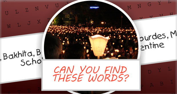 Catholic Saints Word Puzzle