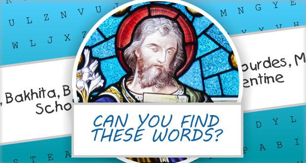 Saint Joseph Word Puzzle