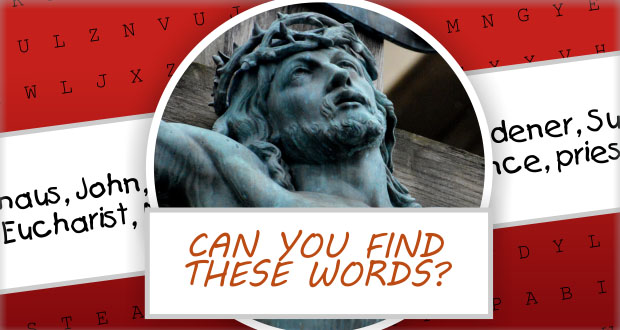 The Passion & Resurrection Word Puzzle