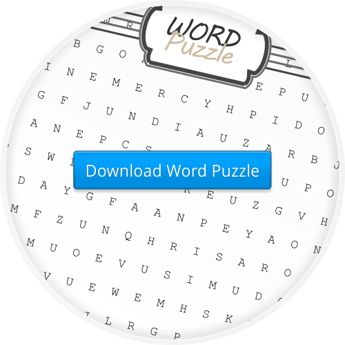 2014-4 The Passion & Resurrection  Word Puzzle