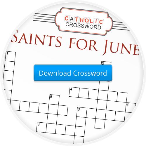 2014-6 Saints for June Crossword