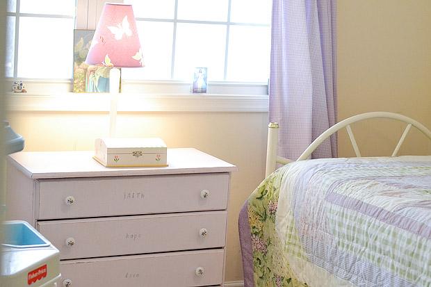 Dresser with Lamp