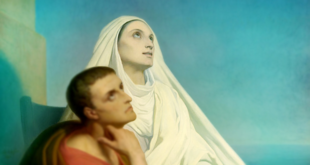 Saint Monica, Patron Saint of Mothers