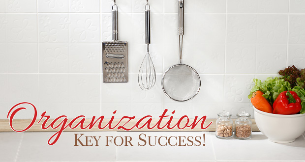 Organization: Key to Homeschool Success!