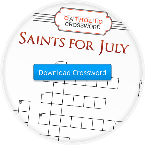 2014-7 Saints for July Crossword