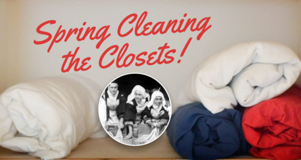 Spring Cleaning the Laundry, Linen and Bathroom!