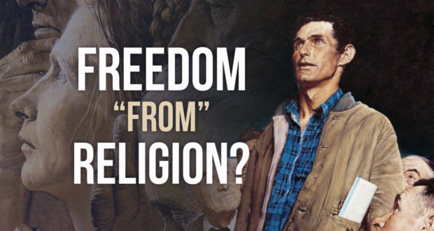 Does the Constitution Guarantee Freedom *from* Religion? by Kevin Clark