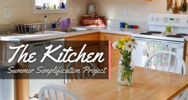 Simplifying the Kitchen!