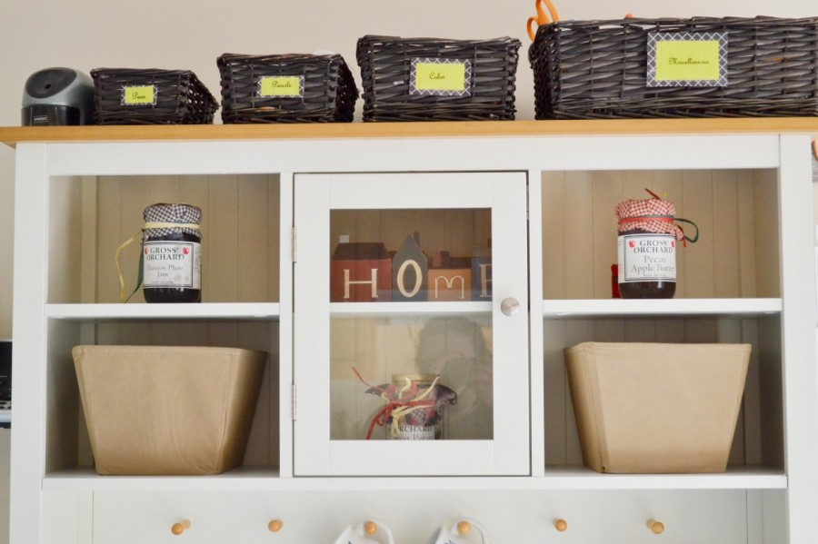 Summer Simplification: - Abby Sasscer |Top Part of Bakers Rack