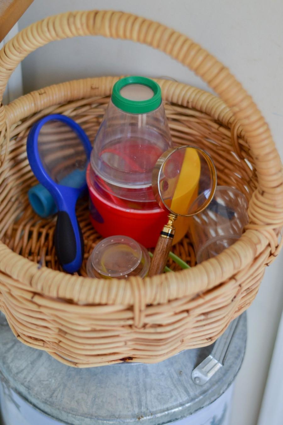 Summer Simplification: - Abby Sasscer | Basket of Exploration Supplies