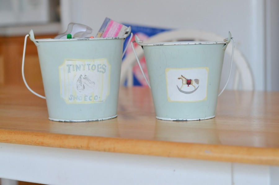 Summer Simplification: - Abby Sasscer | Catch-all buckets