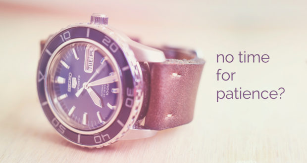 No Time for Patience? Give Me 3 Minutes, and You'll Believe. - with Liz Beller