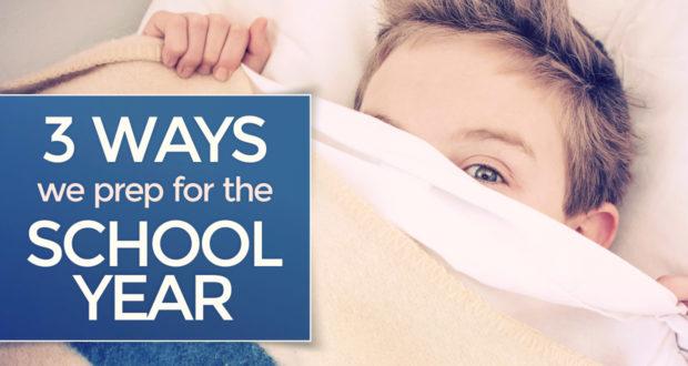 Heard of a 'Practice Week'? Here's 3 Ways We Prep for The School Year - by Mary Ellen Barrett