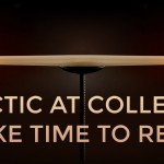 Hectic at College? Take Time to Rest!