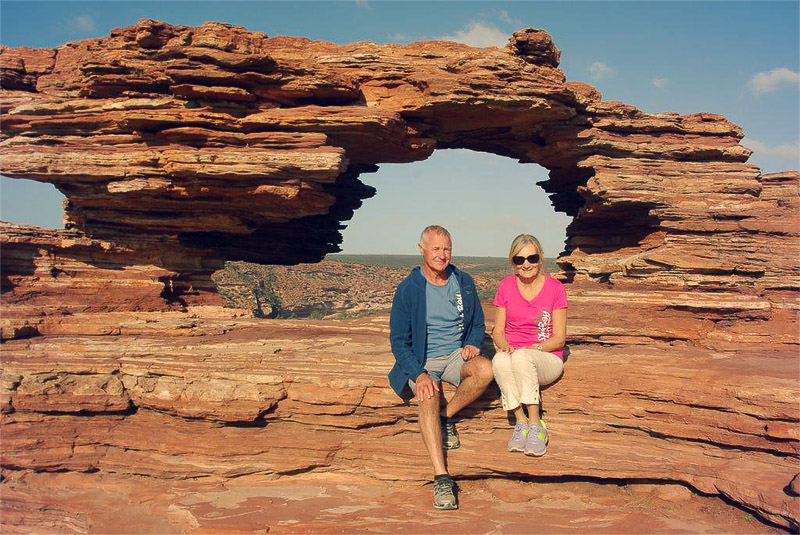 Absent Without Leave: How We Deal with My Gadabout Grandparents - by Kate Moriarty | Bob and Nola Outback