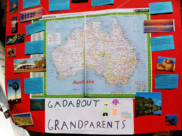 Absent Without Leave: How We Deal with My Gadabout Grandparents - by Kate Moriarty