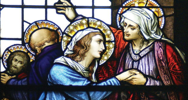 Celebrating Advent in a World that Can't Wait for Christmas - by Christine Smitha | The Visitation of Mary to Elizabeth