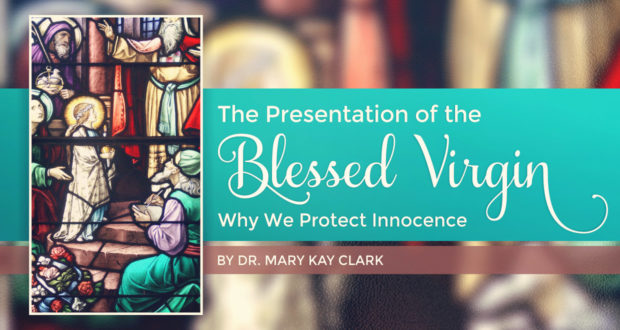 The Presentation of the Blessed Virgin: Why We Protect Innocence - by Dr. Mary Kay Clark