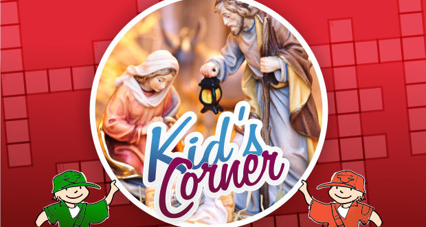 Kids Corner 2014 Christmas Crossword