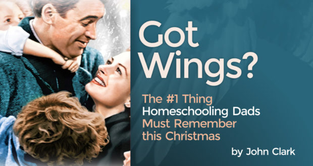Got Wings? The #1 Thing Homeschooling Dads Must Remember this Christmas - by John Clark