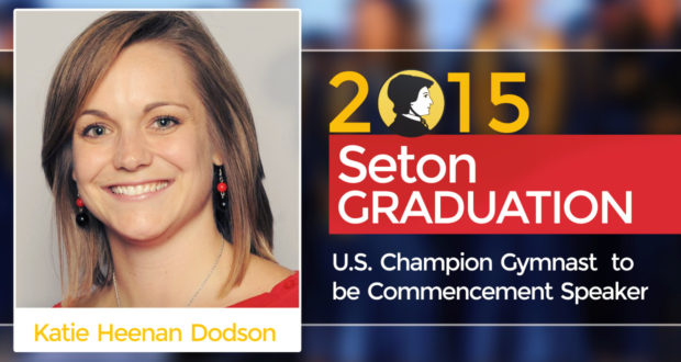 U.S. Champion Gymnast Announced as 2015 Seton Commencement Speaker
