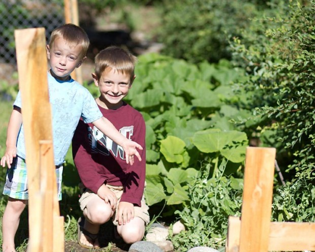 Gardening & Home Schooling: Eating What You Learn - by Heather Kerbis