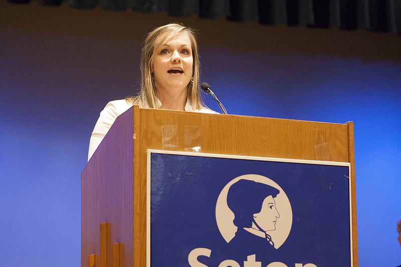 Katie Heenan Dodson - Congratulations Seton Class of 2015!