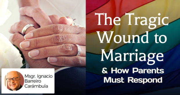 The Tragic Wound to Marriage & How Parents Must Respond - by Msgr. Ignacio Barreiro Carámbula
