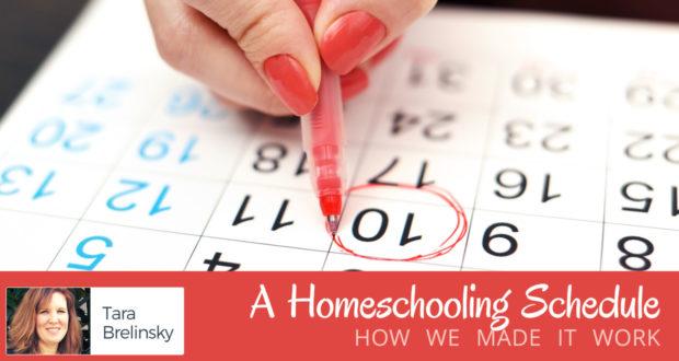 A Homeschooling Schedule: How We Made it Work - by Tara Brelinsky