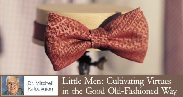 Little Men: Cultivating Virtues in the Good Old-Fashioned Way - by Dr Mitchell Kalpakgian