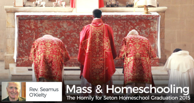Mass & Homeschooling: The Homily for Seton Homeschool Graduation 2015