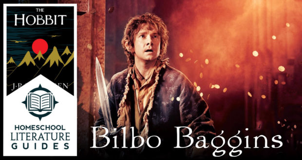 A Heroic Burglar: Meeting Bilbo Baggins from 'The Hobbit' | A Literature Guide for Homeschool Parents & Children - by Dr Mitchell Kalpakgian