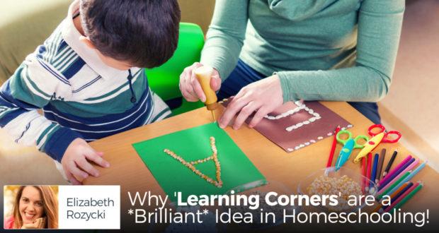 Why 'Learning Corners' are a *Brilliant* Idea in Homeschooling! - by Elizabeth Rozycki