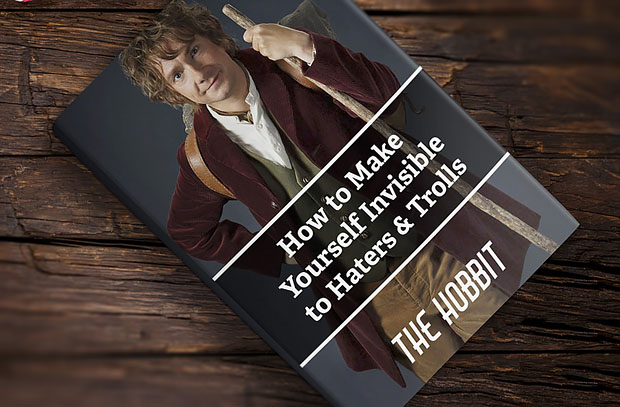 13 Crazy Ideas to Get Your Kids to Read the Classics - by John Clark | The Hobbit: How to Make Yourself Invisible to Haters And Trolls