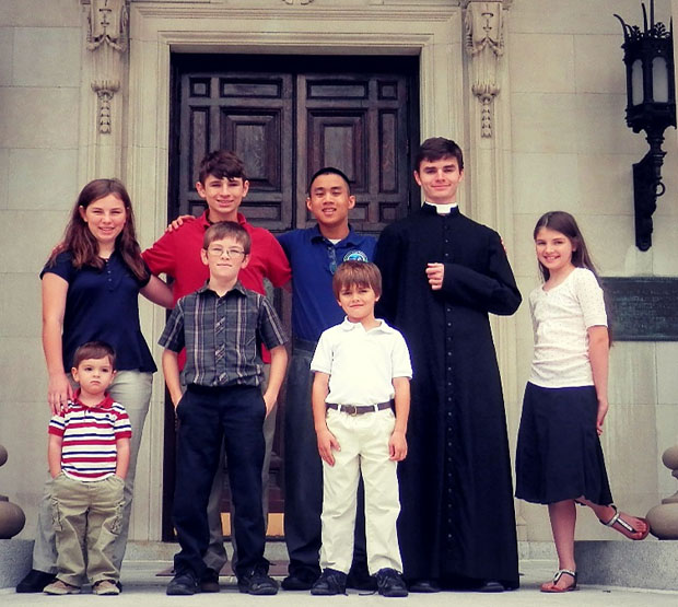 Christmas Wishes & Festive Recipes from Seton Families! - The Brelinsky Family
