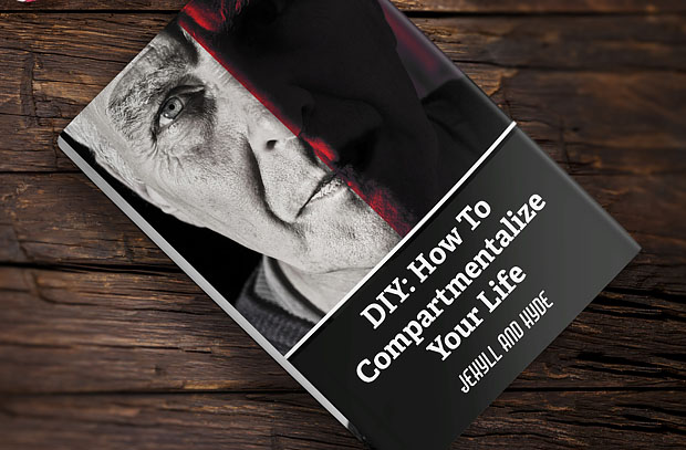 13 Crazy Ideas to Get Your Kids to Read the Classics - by John Clark | Jekyll And Hyde: DIY: How To Compartmentalize Your Life