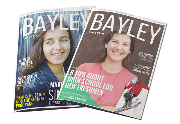 Enhancing Your Homeschool Experience: Seton's Projects for 2016 - Bayley Bulletin